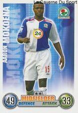 AARON MOKOENA # SOUTH AFRICA BLACKBURN ROVERS CARD PREMIER LEAGUE 2008 TOPPS