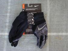 Nike Women's Therma-Fit Elite 2.0 Run Black Gloves~Size M~New!!!