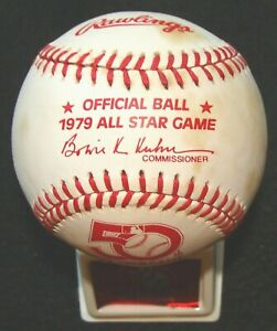 1979 RAWLINGS ORIGINAL UNUSED ALL-STAR GAME @ SEATTLE BASEBALL & DISPLAY STAND 2
