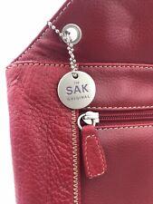 THE SAK Original Red Leather Bag Sl