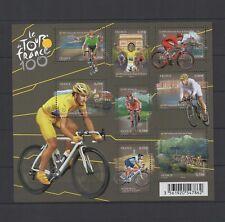 """2013 - Feuille F4755 """"Tour de France 100e"""", neufs,qualité luxe (03-033.18)"""