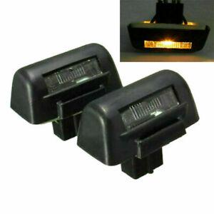 2PCS Rear License Number Plate Light Bulb Lamp For Ford Transit MK6 MK7 4388111