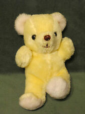 """Russ Berrie and Company Cream/Off White Rattle Plush Doll 7"""" #370 VTG"""