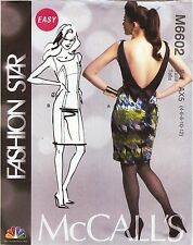McCall's Pattern 6602 Dress Sized to Fit My Size Barbie