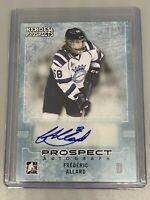 Frederic Allard 2014-2015 ITG Heroes & Prospects /80 Prospect Autograph Auto #27
