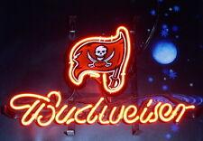 "Budweiser Tampa Bay Buccaneers American Football  Neon Sign 14""x10"" NA33S"