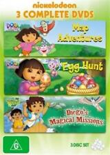 DORA THE EXPLORER Map Adventures / Dora the Explorer / Diego's Magical 3DVD NEW