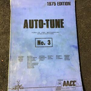 Auto - Tune Tune Up Book No3