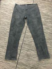 Stussy Camo Camouflage Pants Men's 36 x 32 Dark Gray Cotton