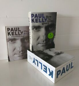 The A to Z Recordings by Paul Kelly 8CD Hardcover Book Set Signed Copy FREE POST