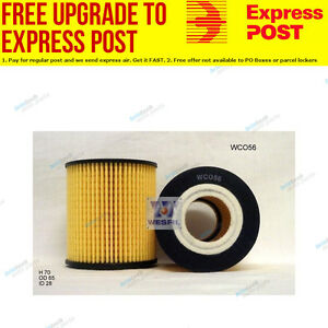 Wesfil Oil Filter WCO56 fits Mazda 6 2.3 (GG),2.3 (GY),2.3 MPS Turbo (GG)