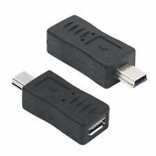 Mini USB Male to Micro USB Female B Type Charger Adapter Connector Converter