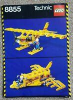 Lego 8855 Technic Prop Plane Instructions Vintage