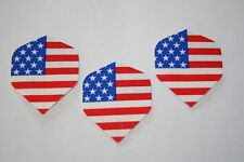 30 forma standard USA stelle e strisce Bandiera Dart voli Set di 10