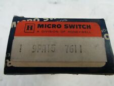 MICRO SWITCH 9PA15  7611