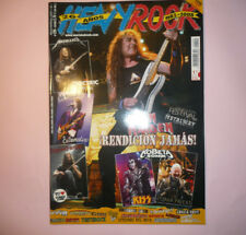 MAGAZINE HEAVY ROCK 299 METALLICA IRON MAIDEN DREAM THEATER /POSTER JUDAS PRIEST