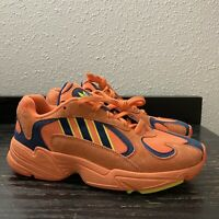 Adidas Yung-1 Dragon Ball Z Hi-Res Orange DBZ Goku Sneakers Mens 8 B37613