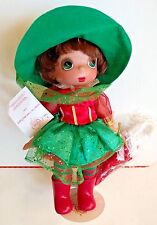 "MARY POPPINS Christmas Linda Rick '14 Doll Disney Tutu Precious Moments 14""  NEW"
