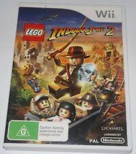 LEGO: Indiana Jones 2: Adventure Continues Nintendo Wii, 2009 AUS CODED PAL ede