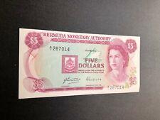 bermuda currency 5 dollar a2601