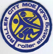 Roller City Moe Roller Skating Club VIC Souvenir Printed SewOn Cloth Patch Badge