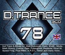 D.TRANCE 78  4 CD NEUF