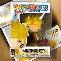 "Funko Pop Naruto Shippuden : Naruto (Six Path) #186 Special Edition ""Mint Box"""