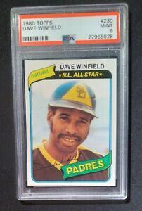 1980 Topps Dave Winfield #230 HOF PSA 9!