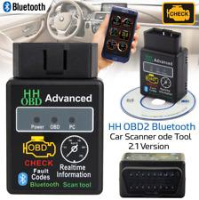 ELM327 v2.1 Bluetooth OBD2 Scanner Adapter OBDII Diagnostic Tool TORQUE Android