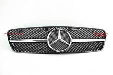MERCEDES W203 1FIN AMG GRILLE C280 C320 C240 C200 SPORTS GRILL C-CLASS BLACK