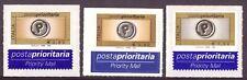 2004 Posta Prioritaria 3 Valori  Euro Catalogo 2784A-5 MNH Italia Integri