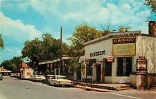 Albuquerque New Mexico~South Side Of Plaza Old Town~El Mercado Imports~1950's PC