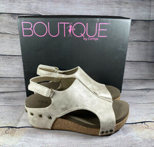 "New! Boutique by Corkys ""Volta"" Wedge Heel Sandals NIB"