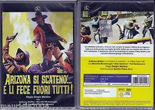 Arizona si scateno'... e li fece fuori tutti (1970) DVD NUOVO Anthony Steffen Se