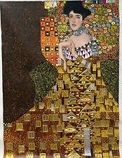 30x40 Gustav Klimt Portrait of Adele Bloch-Bauer I gold oil painting on canvas