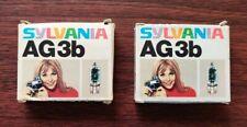Sylvania AG3b Flash Bulbs / Vintage
