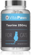 Taurine 250mg For Cats By VitaPaws™ 180 Sprinkle Capsules | Heart & Eye Health