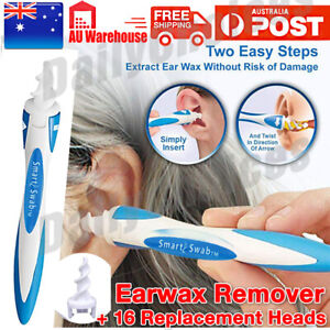 AU Ear Wax Removal Remover Tool Ear Cleaner Q-Grips Pick Swab Handle 16 Tips