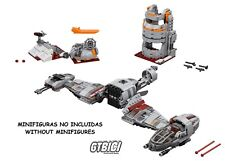 LEGO STAR WARS  `` DEFENSE OF CRAIT ´´  Ref 75202  MINIFIGURAS NO INCLUIDAS