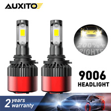 2pc 9006 Low Beam for Toyota Camry Corolla Highlander Sienna LED Headlight Bulbs
