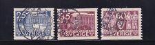 Sweden Used Stamps Sc#245-247 CV$6