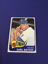 1965 Topps Earl Batery #490 Mint
