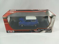 Motormax 1:18 Old Mini Cooper, Die-Cast Collection 2011 New / Sealed