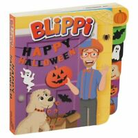Blippi : Happy Halloween, Tabbed Board Book by Studio Fun International