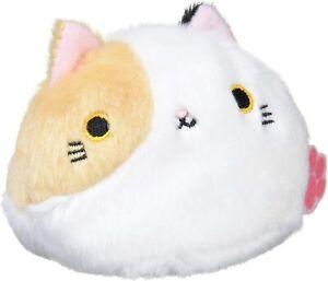 Sanei Neko Dango MIKE Calico Cat Dumpling Beanbag Plush Toy