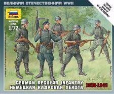 Zvezda #6178 - 1:72 German Regular Infantry 1939-43