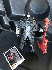 MCFARLANE DC MULTIVERSE BATMAN Red Axe Dark Nights DEATH METAL NO BAF DARKFATHER