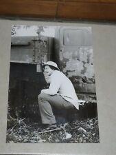 Photographie de Sipa Press Vietnam Billy Lee Evans Front U.S 1979 18 cm x 26 cm