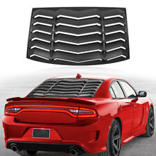 Rear Window Louver Scoop Windshield Cover ABS Fit For Dodge Charger 2011-2021