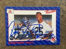 signed in person  ROCKET ISMAIL  NOTRE DAME -  TORONTO ARGONAUTS   AW # 1  1991